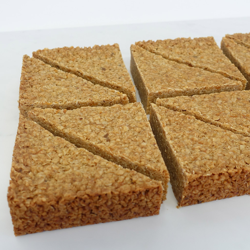 The Little Yellow Patisserie Flapjack (triangles of flapjack)